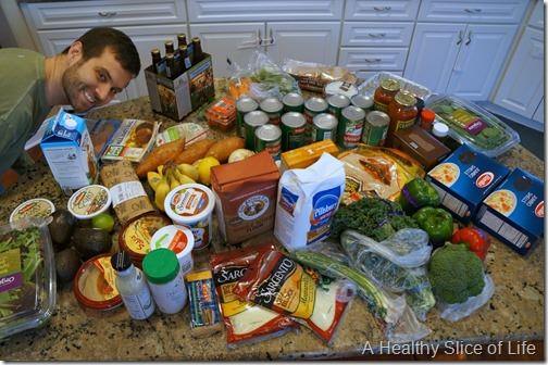 detailed harris teeter grocery haul 222014
