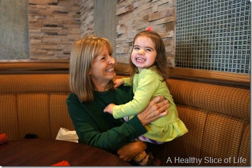 life snapshots- lunch with nana