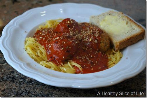 quinoa spaghetti dinner