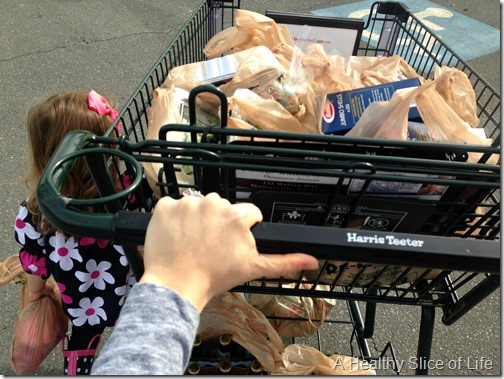 toddler grocery shopping 2