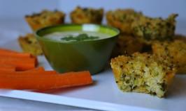 Broccoli Cheddar Quinoa Bites