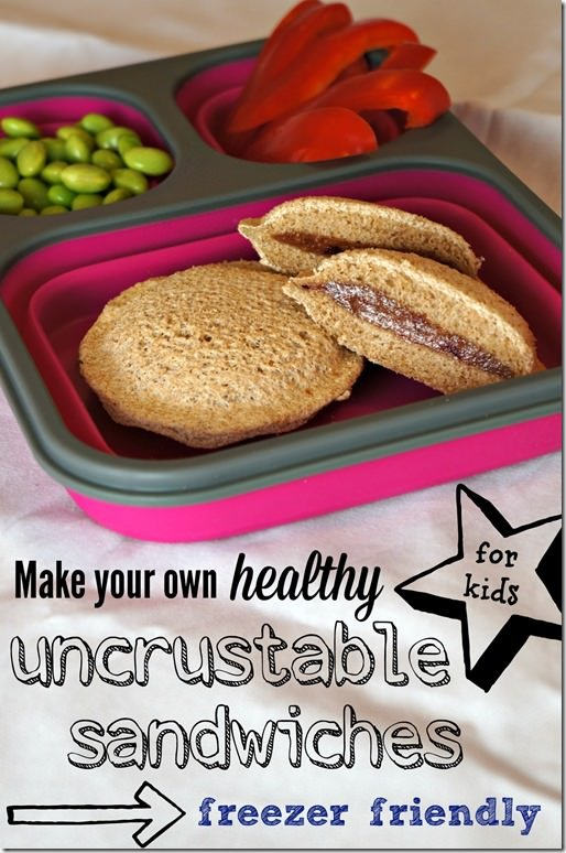 make your own healthy uncrustable sandwiches for the freezer-