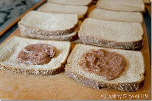 make your own healthy uncrustable sandwiches for the freezer- step 4