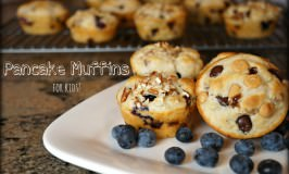 Pancake Muffins for Kids!