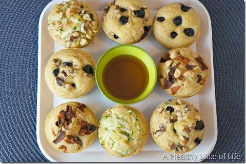 pancake muffins-serve