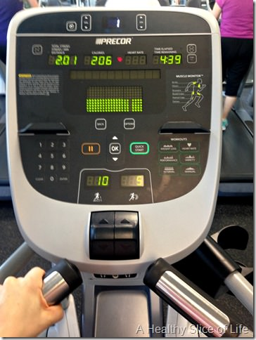 34 weeks pregnant elliptical
