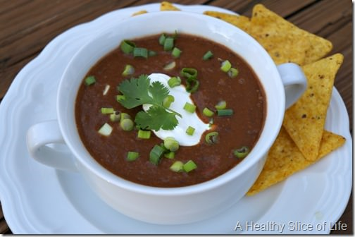crockpot black bean soup- 2