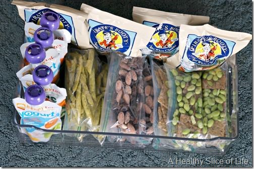 simplify healthy snacking for toddlers and kids- pantry snack tray