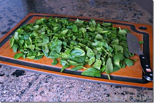 spinach stuffed shells bulk freezer recipe- spinach