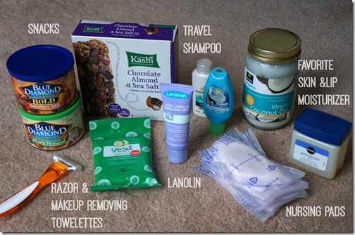 what's in my hospital bag for delivery- 2