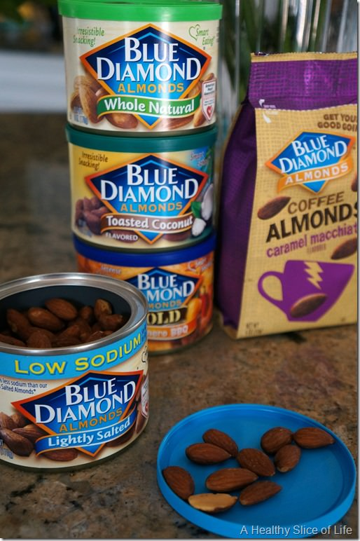 blue diamond lightly salted