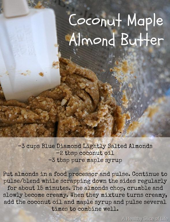 Coconut Maple Almond Butter