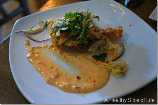 fork restaurant- Cornelius- beer battered soft shell crab