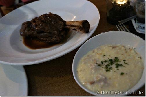 fork restaurant- Cornelius- lamb shank