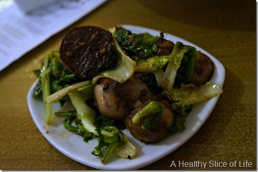 fork restaurant- Cornelius- turnips and greens