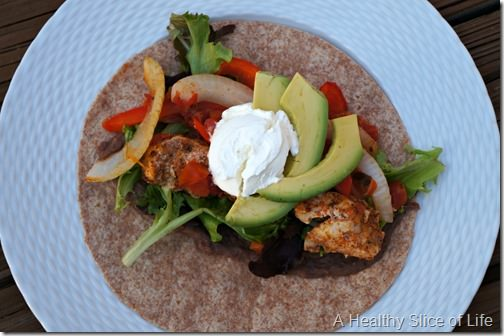 homemade fajitas