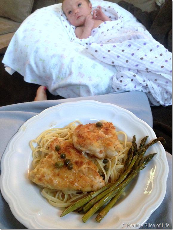 newborn chicken picatta