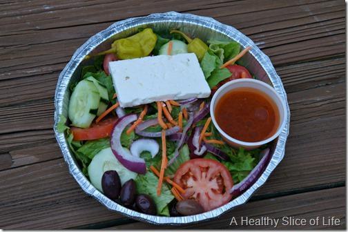 weekly meal plan- Brooklyn boys salad