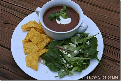 weekly meal plan- soup and salad