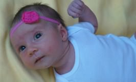 Kaitlyn at One Month Old