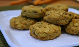 Carrot Cake Lactation Breakfast Cookies for New Moms