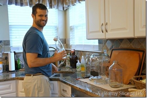 how to brew kombucha at home- 1