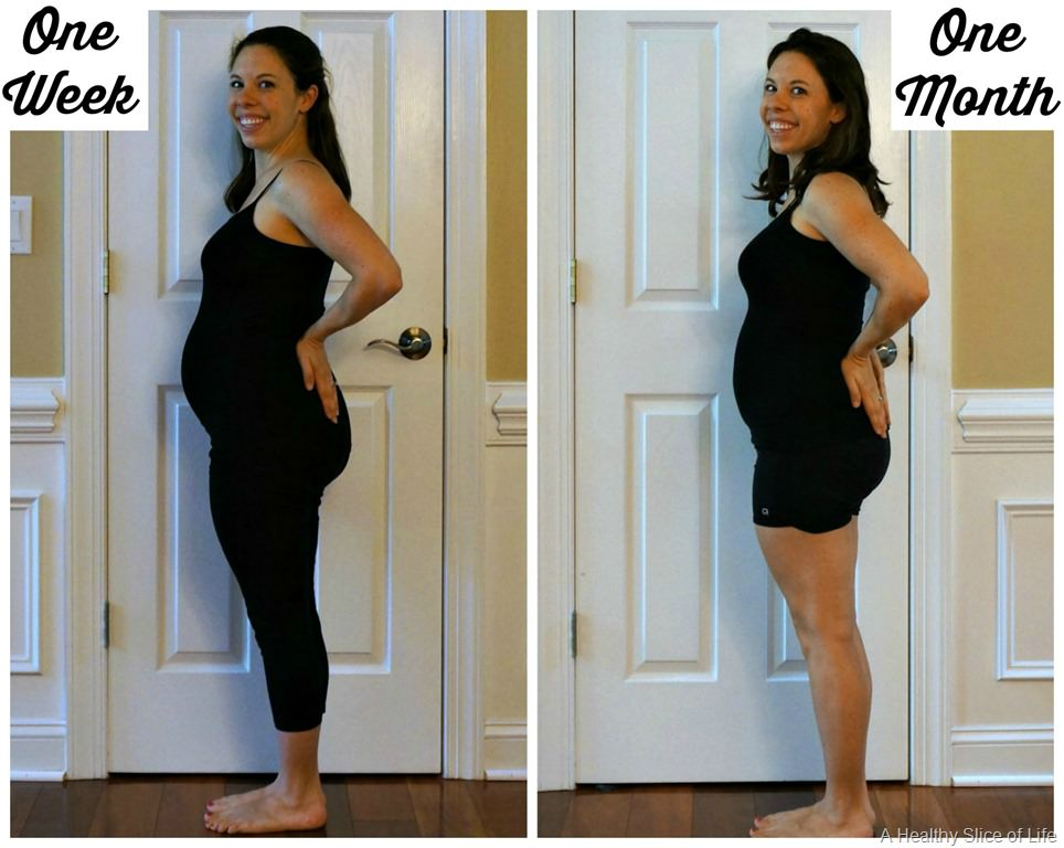 Body After (Second) Baby: One Month Out | A Healthy Slice ...