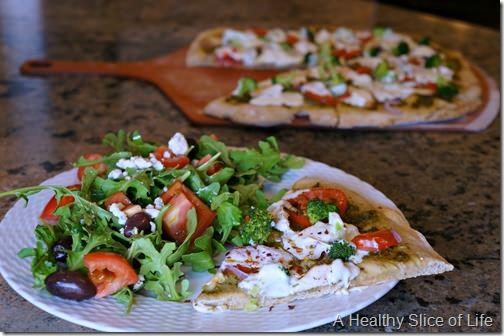 rustic wheat pizza dough