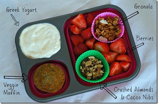back to school healthy lunch- DIY yogurt parfait