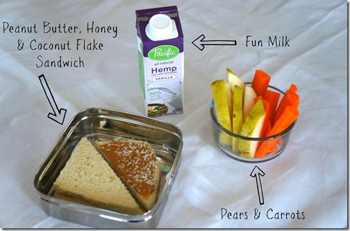 back to school healthy lunch- switched up sandwich