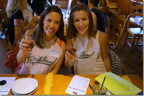olive garden tastes- wine tasting