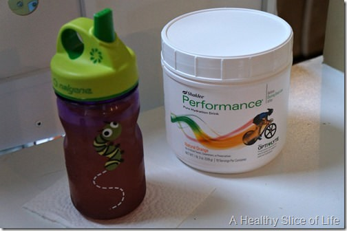 sick toddler- performance drink