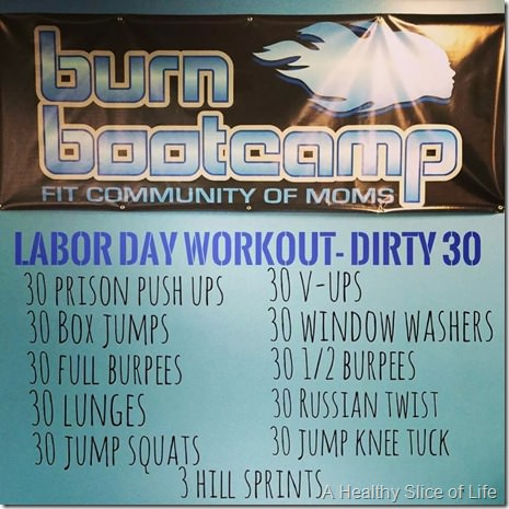 Burn Bootcamp Circuit