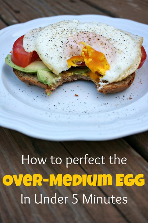 How To Make the Perfect Over-Medium Egg | A Healthy Slice of Life