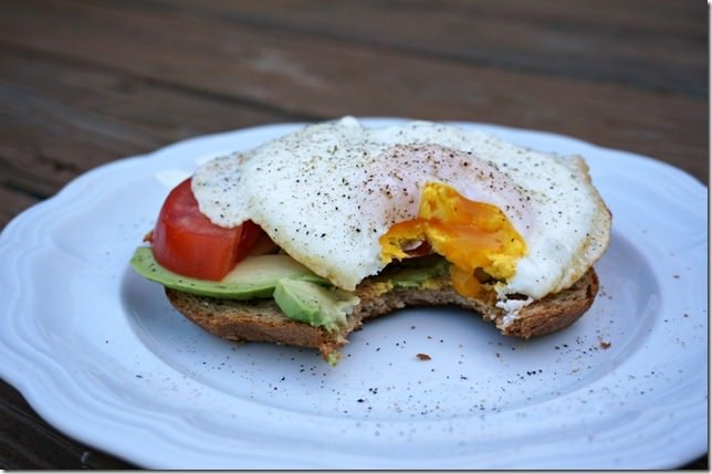 the perfect over medium egg- how to