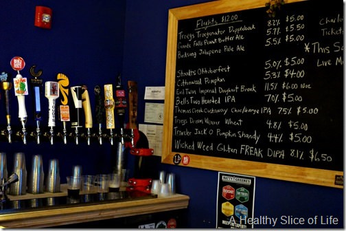 ultimate ales- on tap