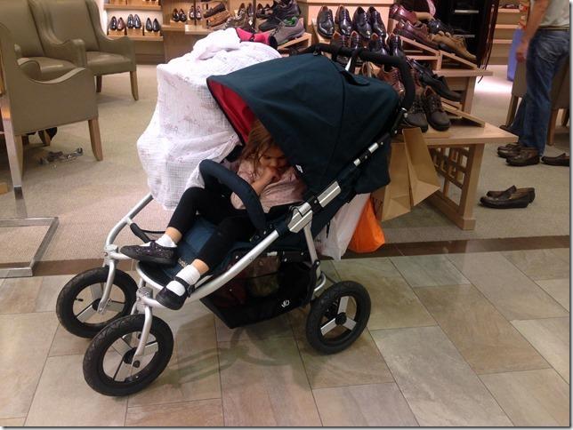 bumbleride shopping