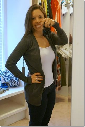 fall staple- gray cardigan