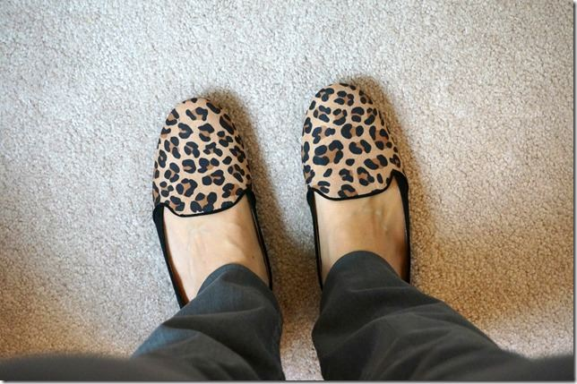 fall staple- leopard flats