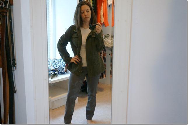 fall staple- military jacket
