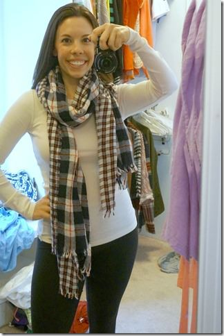 fall staple- plaid scarf