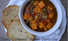 Hearty Vegetable Barley Soup
