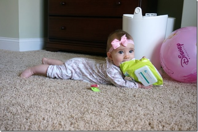 kaitlyn- 5 months- trouble maker