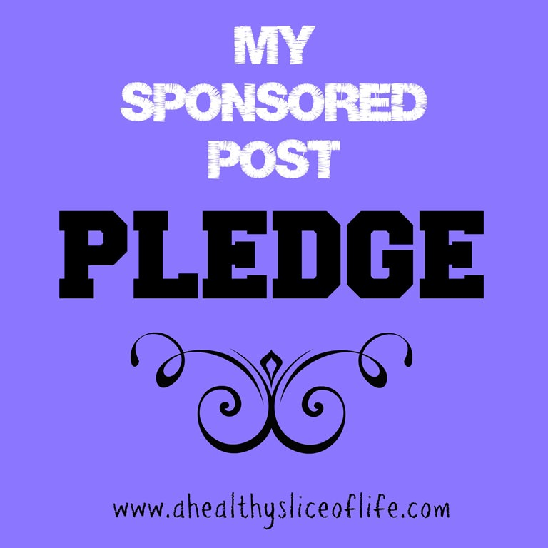 My Sponsored Post Pledge to You