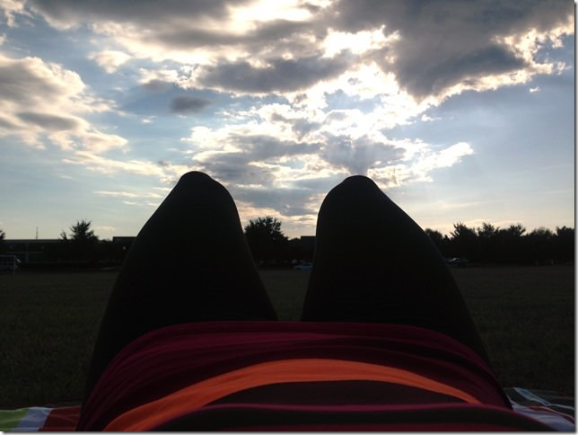 outdoor fall workout