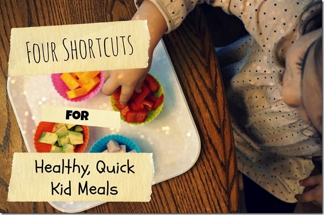 short cuts for healthy, quick toddler meals