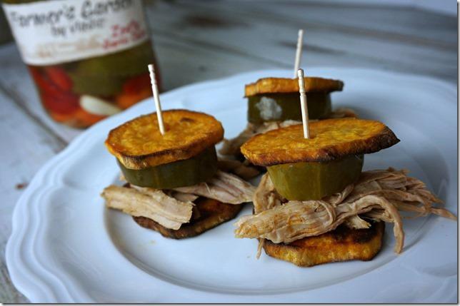 sweet potato bun sliders