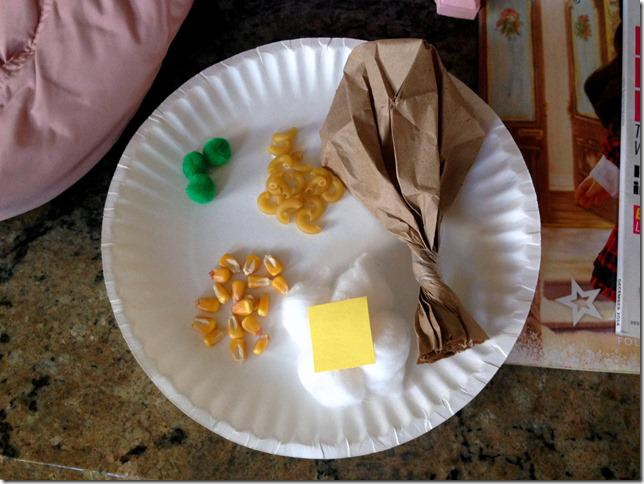 Thanksgiving Plate Preschool Craft