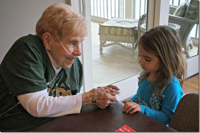 great grandma betty and hailey