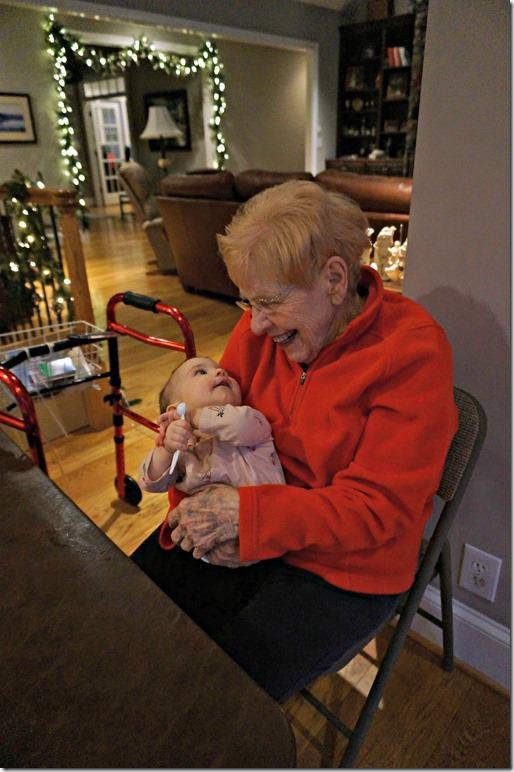 great grandma betty and kaitlyn